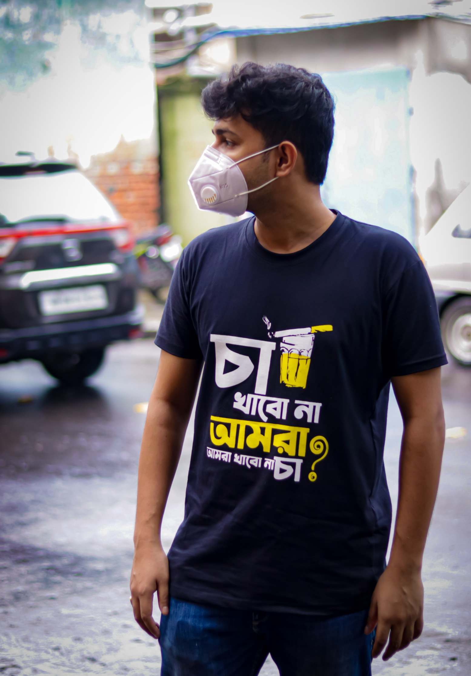 bangla printed tshirt